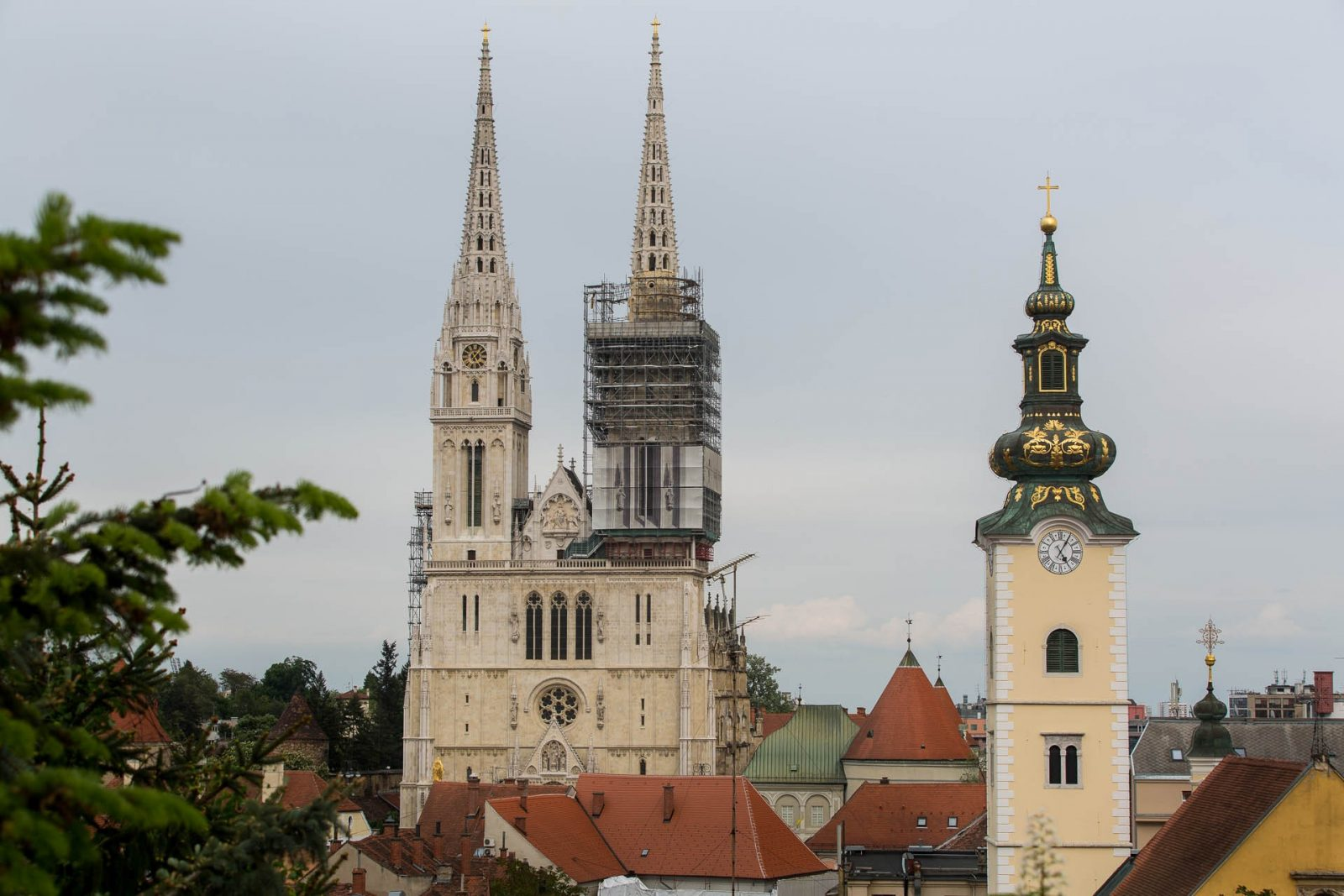 Just Zagreb, cathedral