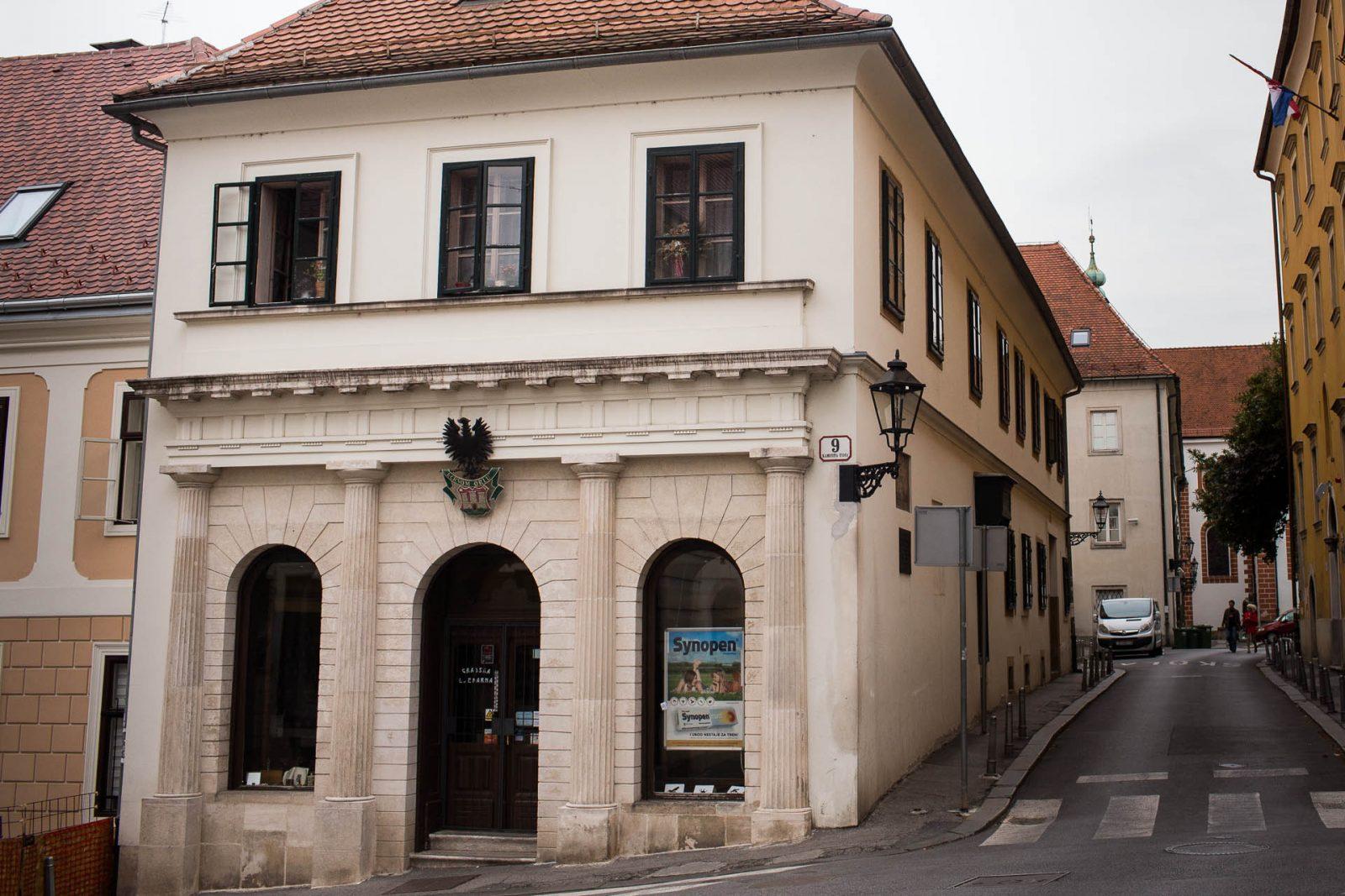 1st pharmacy in Zagreb