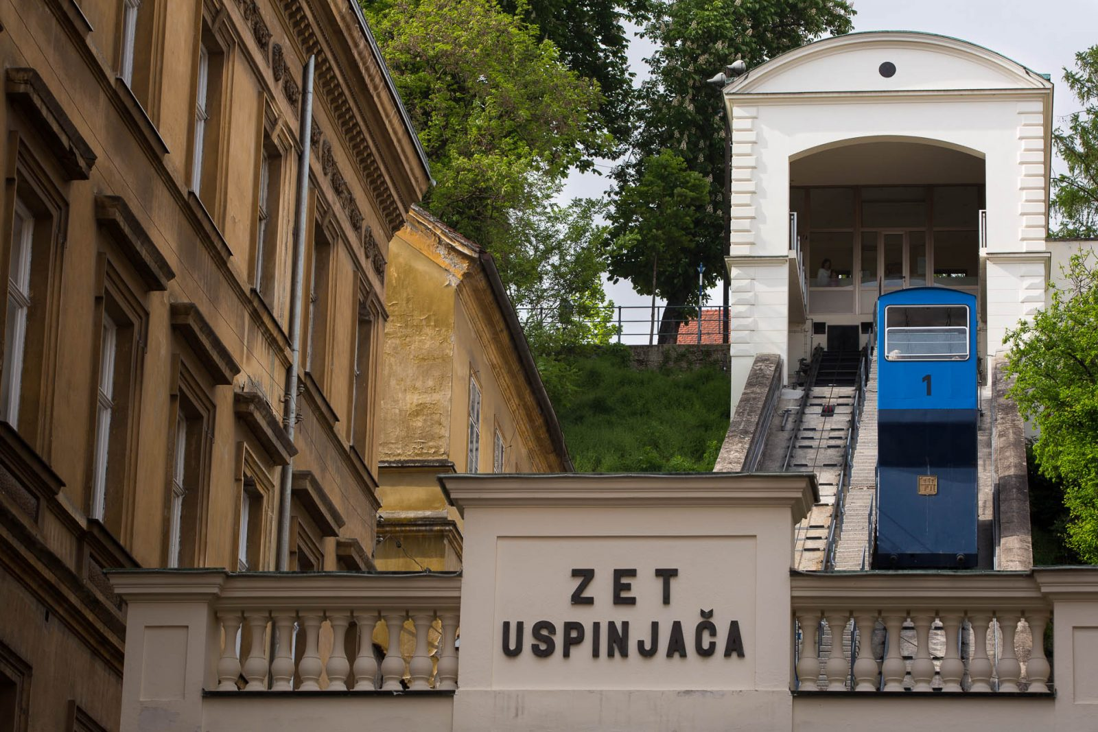 Just Zagreb, Zagreb funicular