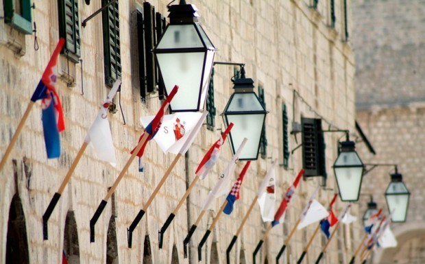 national holidays, flags, croatia