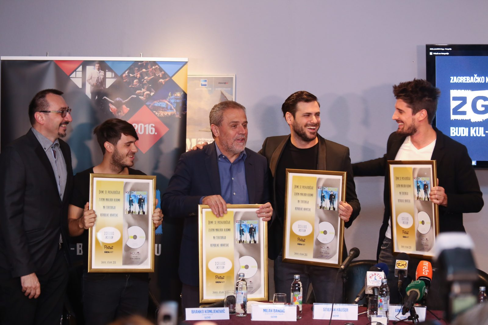 ZgKul Festival and 2 Cellos Give Free Concert To the City of Zagreb